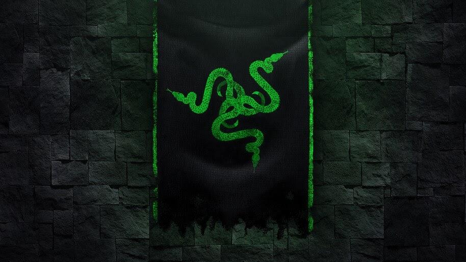Razer, Logo, Digital Art, 4K, #4.2041
