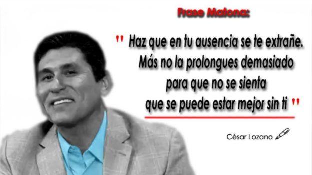 Poemas De Amor Frases Matonas De Cesar Lozano