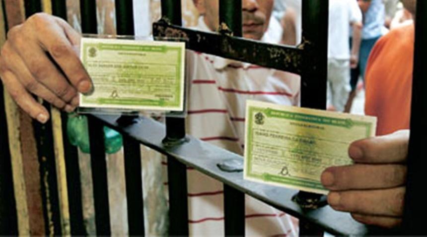 Eleitores não podem ser presos a partir de hoje 27