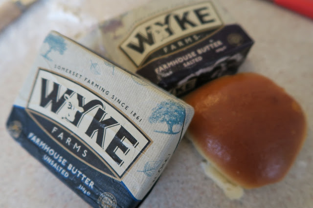 Wyke Farms butter selection