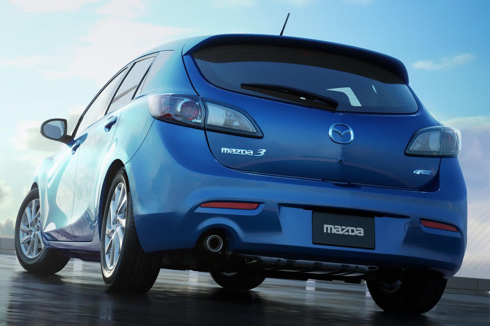 Zoom In Cars: 2012 Mazda 3