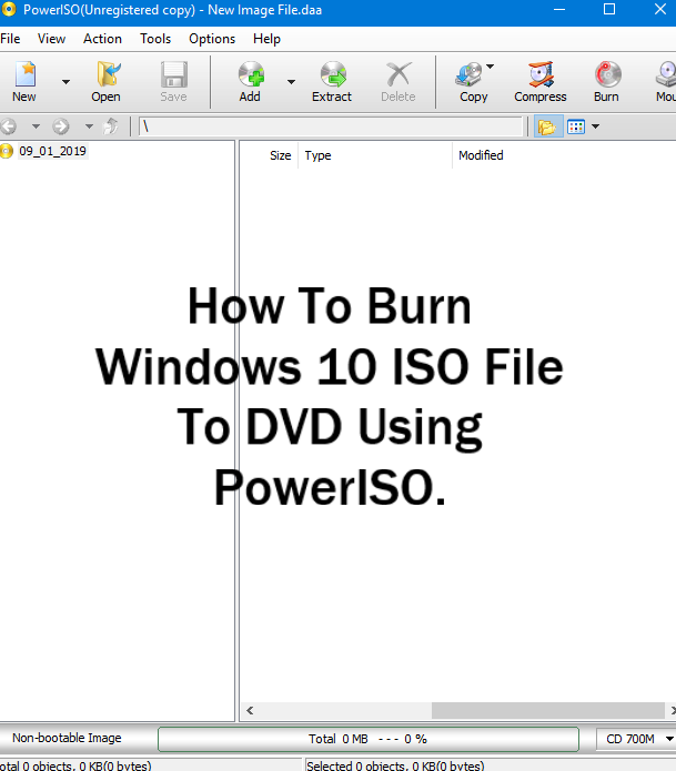 how to burn windows 10 iso to dvd using ultraiso