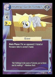My Little Pony Anything I Can Do To Help? Canterlot Nights CCG Card