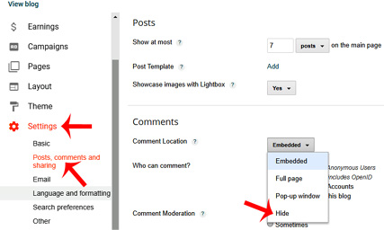 Blogger Comment Box Remove Ya Disable Kaise Kare