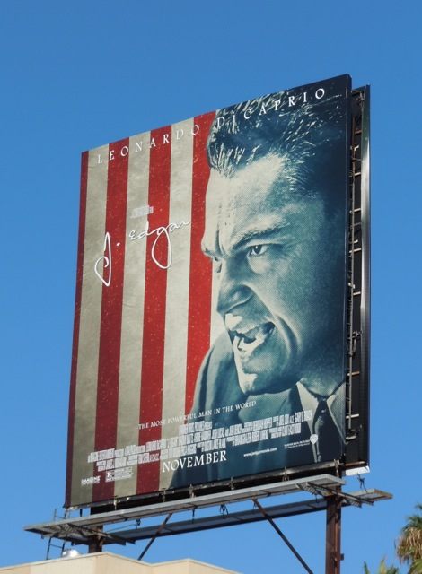 J Edgar billboard