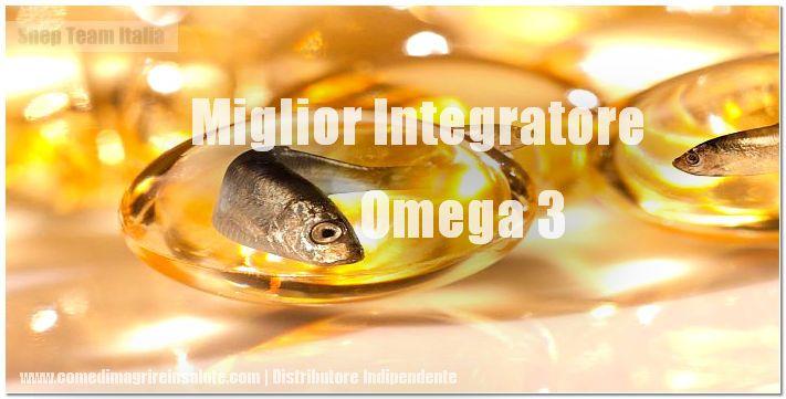 Miglior integratore Omega 3