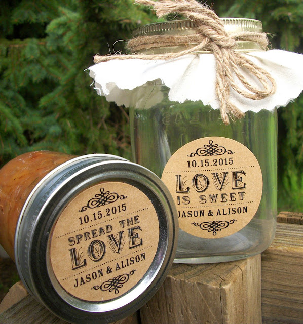 custom spread the love label