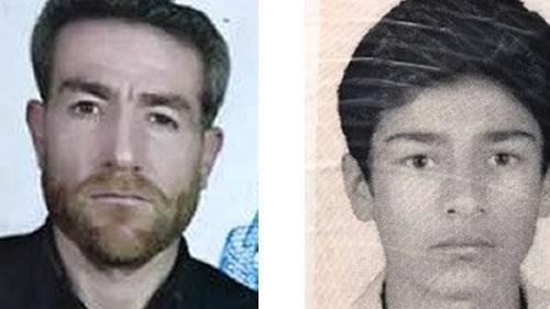 قتل شابين كرديين بيد عناصر الحرس المجرمين