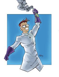 Dexter, em anime manga