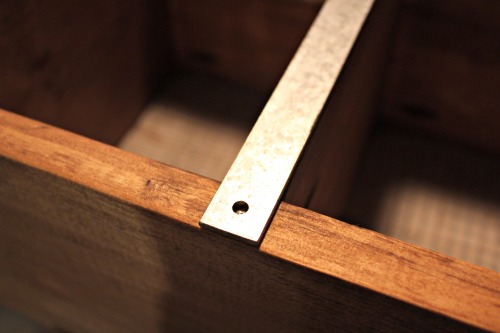 metal strips with predrilled hole