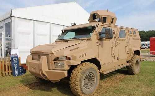 UEA Terima Kendaraan Lapis Baja Canggih Spartan dan Predator