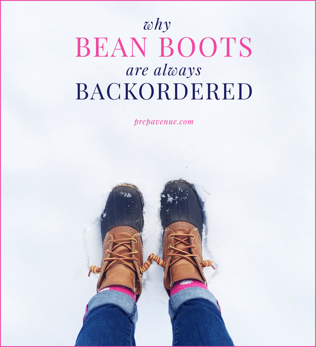 bean boots, backorder, fall, winter, backordered, why, long, how, boot, weather, shipping