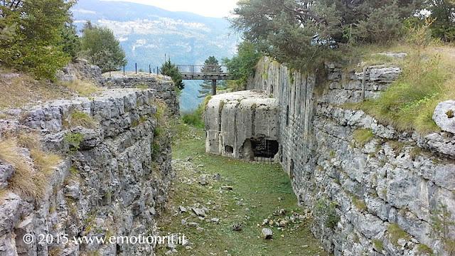 Lavarone: Forte Belvedere