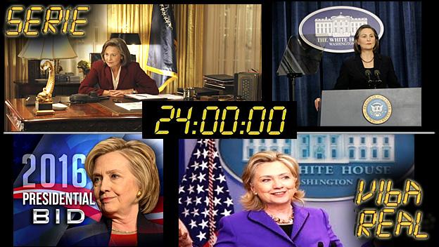 Profecias série 24 Horas - 1ª Presidente Mulher