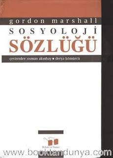 Gordon Marshall - Sosyoloji Sözlüğü