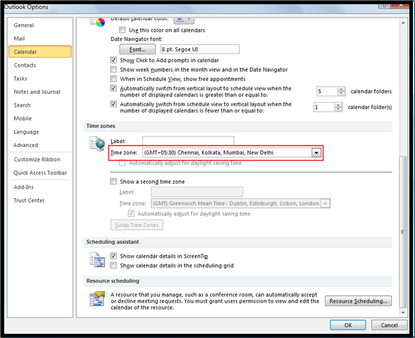 Email received time is different in Outlook and Webmail | UC