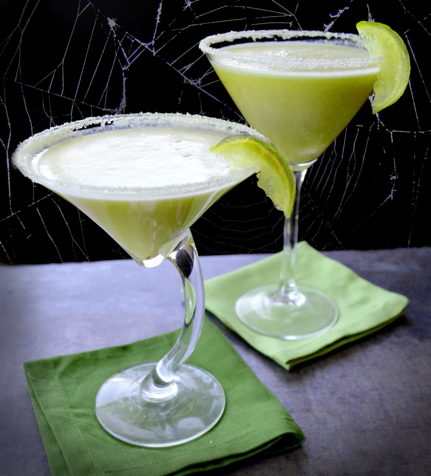 Paleo Girl's Kitchen: Frankenstein's Key Lime Pie Martini