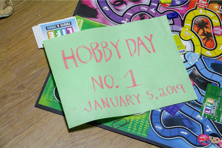 Hobby Day No. 1 - Goal Setting and Board Games