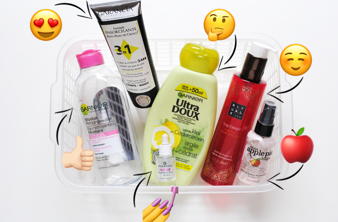 beauty empties favourites may
