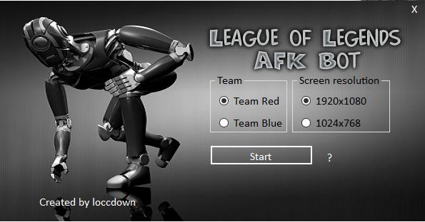 League of Legends Anti AFK Bot - League of Legends Tools