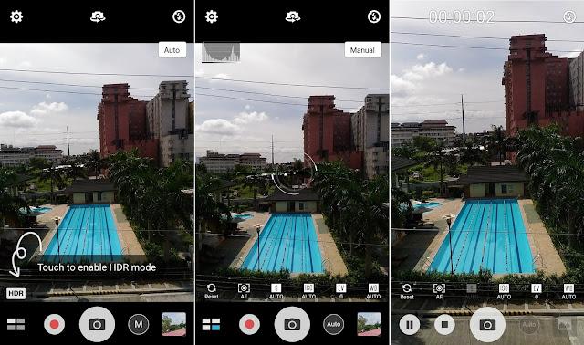 ASUS ZenFone 2 Laser 5.5s Camera UI