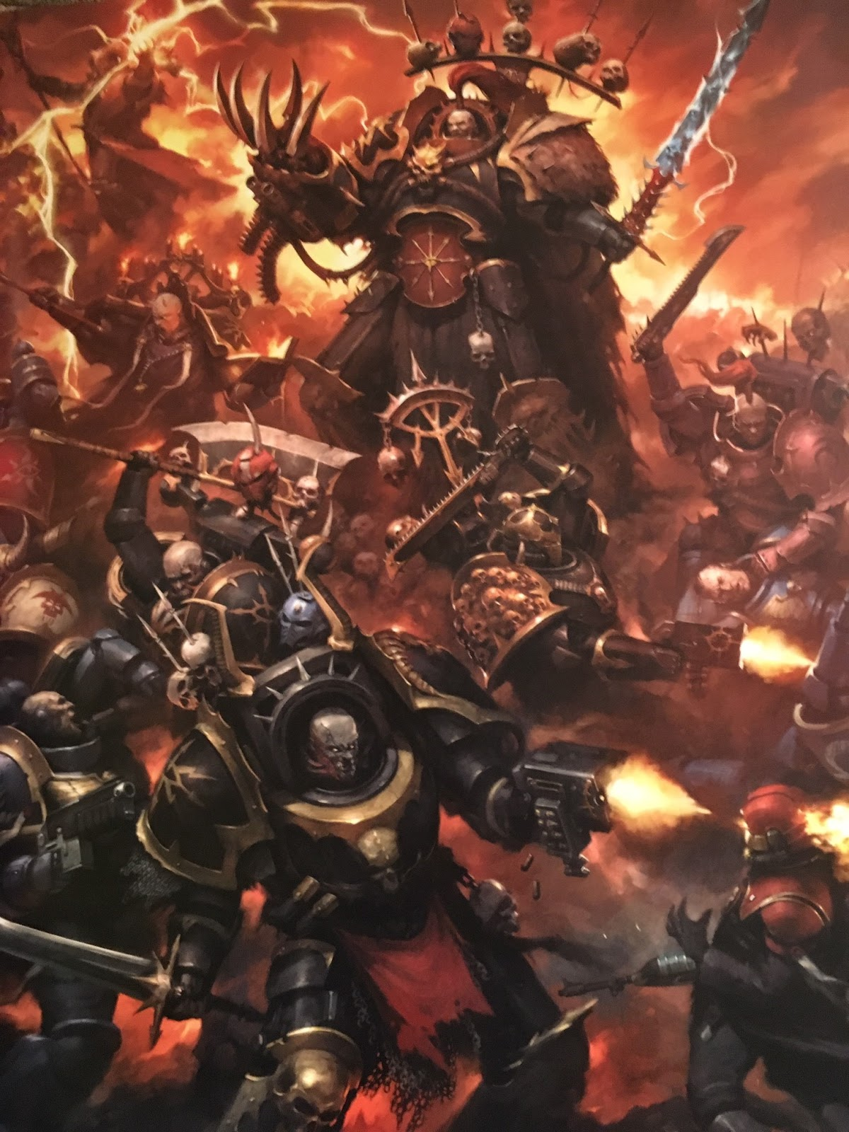 Battle Bunnies: Vigilus Ablaze and Codex Heretic Astartes