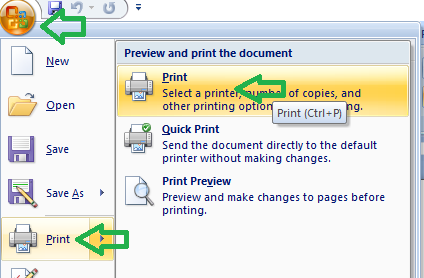 4 Easy steps Convert Word to PDF