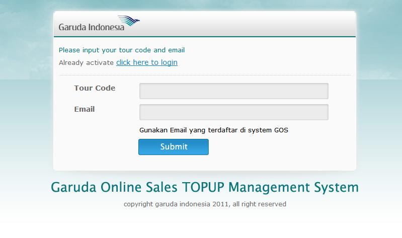 Syarat dan Ketentuan Program Garuda Online Sales (GOS)