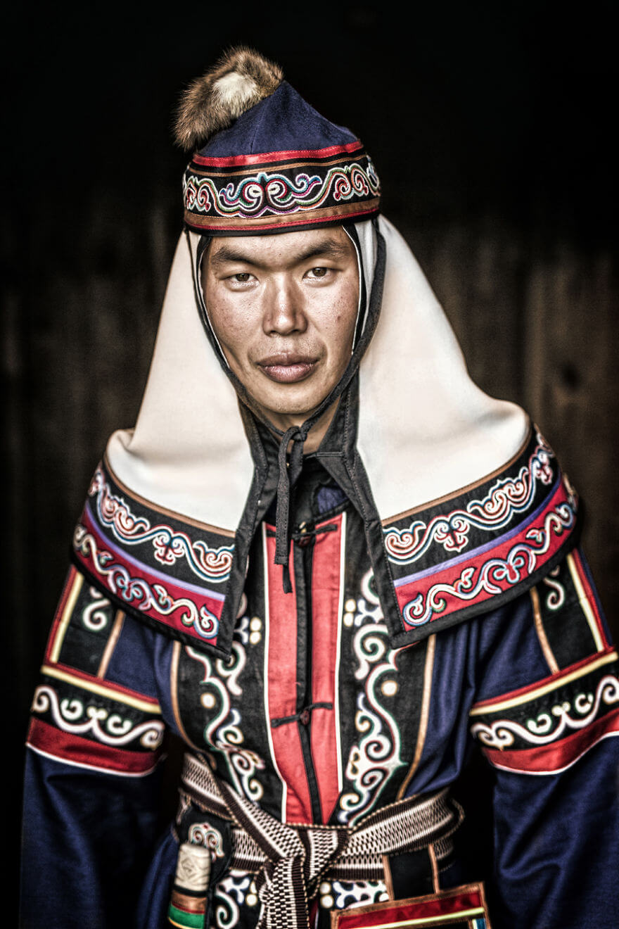He Traveled 25000 Km In Siberia To Capture The Beauty Of Its Indigenous People With His Camera. The Pictures Are Breathtaking! - Ulchi Young Man
