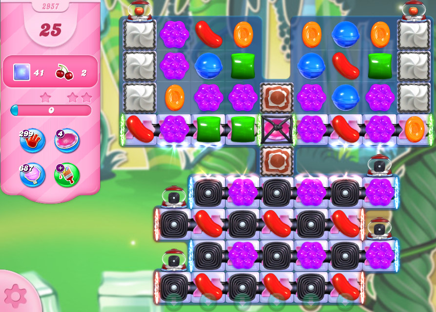 Candy Crush Saga level 2957