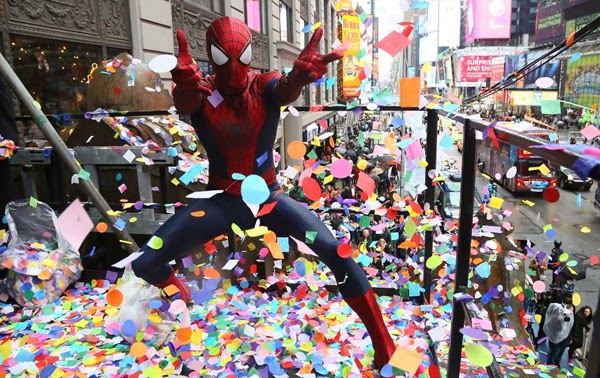 The Amazing Spider-Man 2: El Poder de Electro en Times Square