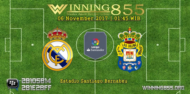 Prediksi Akurat Real Madrid vs Las Palmas | 06 November 2017
