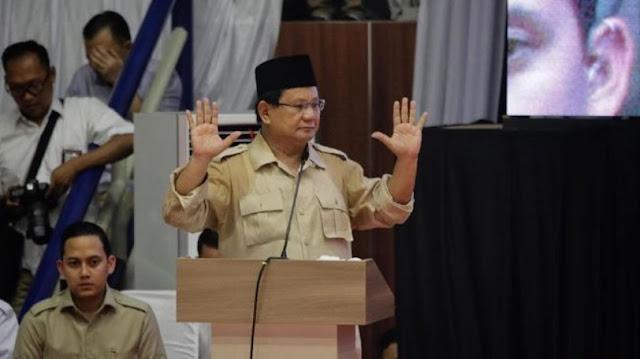 Prabowo: Pembangunan Indonesia Keliru Sejak Orde Baru