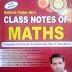 Rakesh Yadav : Math Class Notes PDF DOWNLOAD