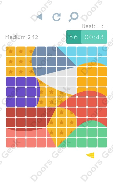 Cheats, Walkthrough for Blocks and Shapes Medium Level 242