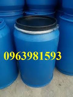 Thùng phuy chứa, thùng phuy 220 lít, thùng phuy nhựa giá rẻ