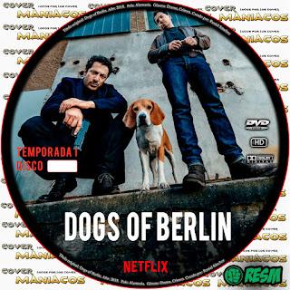 GALLETA DOGS OF BERLIN - PERROS DE BERLIN - TEMPORADA 1 - 2018 [COVER DVD]
