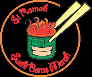 logo si ramah sushi beras merah jogja