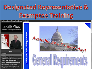 California Designated Representative Training Courses (wholesaler, 3PL) - Approved by the California State Board of Pharmacy