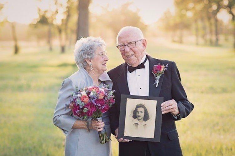 Невероятная пара отпраздновала так красиво 70-летие своей свадьбы