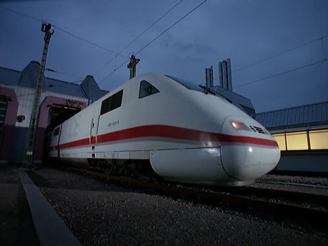Trem de Frankfurt até Hamburgo