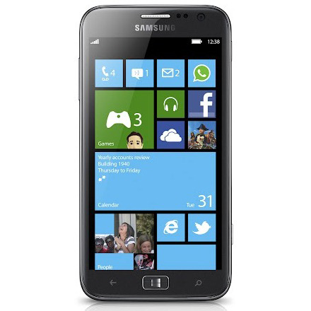 Samsung ATIV S (front)