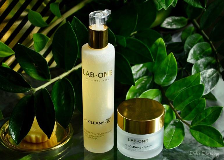 LAB ONE N°1 CleanSkin Antybakteryjny żel do mycia twarzy oraz Nawilżający krem do skóry problematycznej