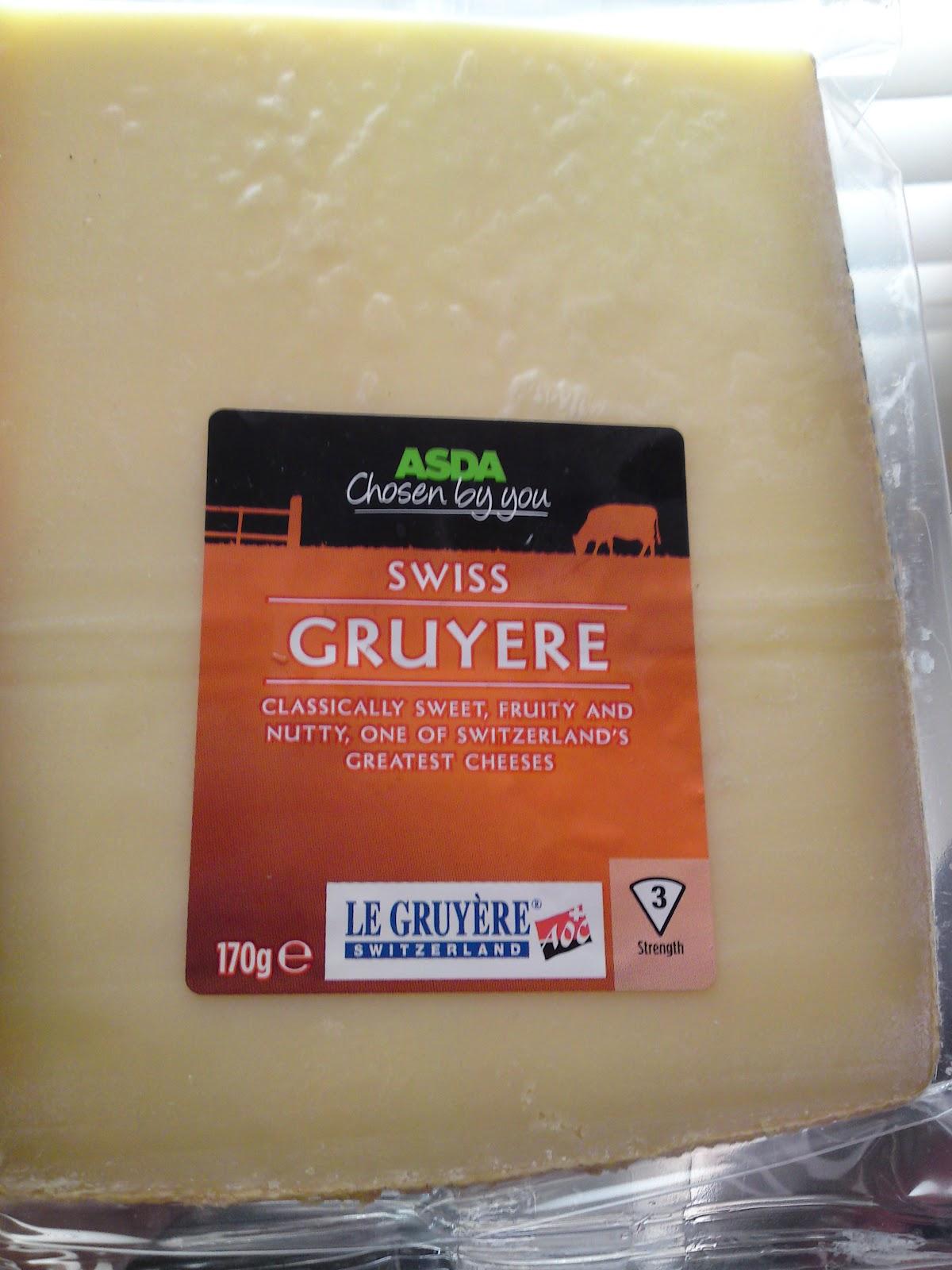 lactose free uk asda swiss gruyere safe cheese