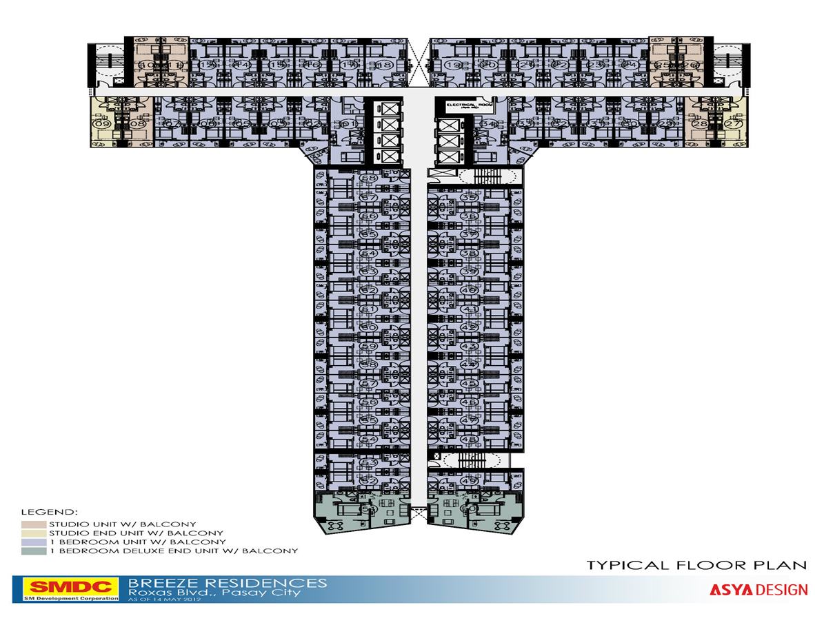 BREEZE Residences: Floor Plan And Unit Layout