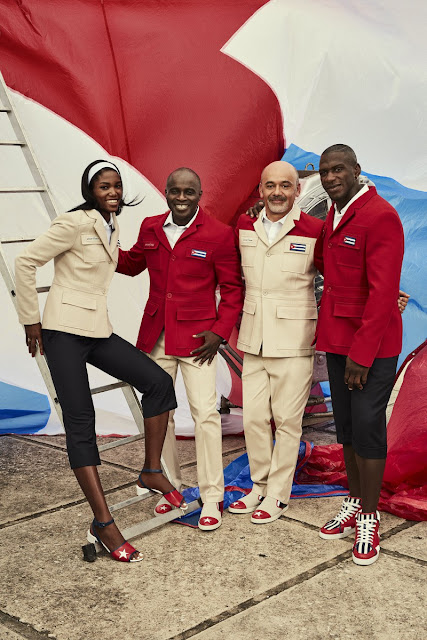 Christian Louboutin, Cuba, Juegos Olímpicos, Río 2016, Suits and Shirts, sports, sportstyle, sportwear, sporty-chic,