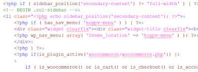 Chèn code hiển thị menu ra giao diện