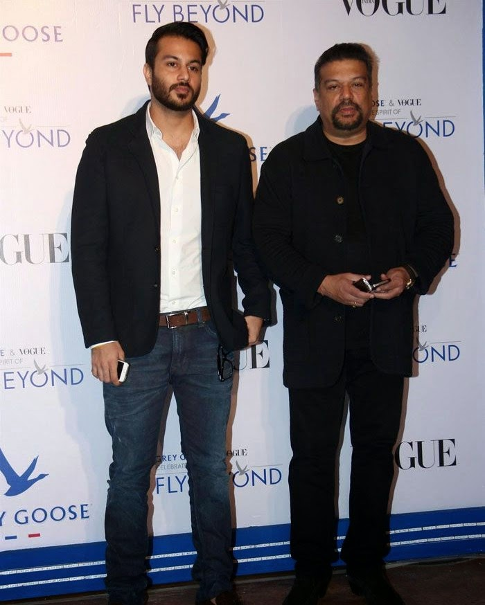 Vir Sanghvi, Pics from Red Carpet of Grey Goose & Vogue's Fly Beyond Awards 2014