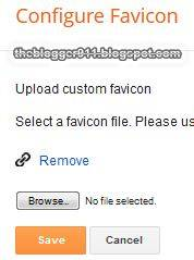 How To Add Favicon to Blogger Without Editing HTML