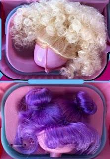 Разноцветные парики L.O.L. Surprise для игрушек